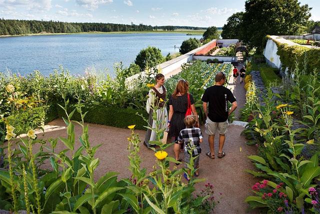 Lilla Slottsträdgården - Foto; Simon Irvine